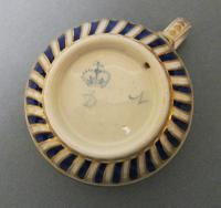 Delightful RAre Pair of 18th Century Derby Porcelain Coffee Cups C.1770 (3 of 6)