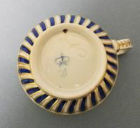 Delightful RAre Pair of 18th Century Derby Porcelain Coffee Cups C.1770 (2 of 6)