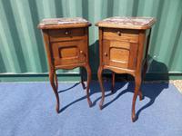 French Oak Bedside Cabinets c.1930