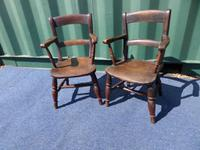 Pair of Child's Windsor Chairs