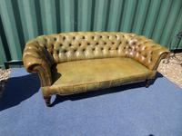 Victorian Leather Chesterfield Sofa