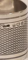 Silver Oval Napkin Ring Birmingham 1934 (4 of 8)
