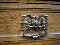 Large & Impressive Edwardian Light Oak Mirror Back Sideboard by Maple & Co (4 of 16)