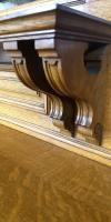 Large & Impressive Edwardian Light Oak Mirror Back Sideboard by Maple & Co (12 of 16)
