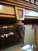 Large & Impressive Edwardian Light Oak Mirror Back Sideboard by Maple & Co (14 of 16)