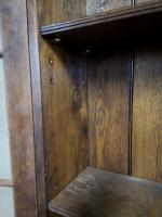 Good Quality Reproduction Oak Bureau Bookcase in the Georgian Style (10 of 11)