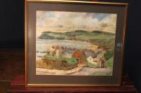 Robin Hoods Bay Watercolour Signed Inglis (2 of 4)
