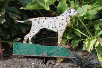Folk Art Dalmatian Boot Scraper C1930's (5 of 5)