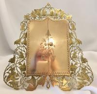 Victorian Brass Folding Frame