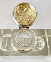 Silver Mounted Inkwell. Birmingham 1896 (3 of 8)