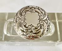 Silver Mounted Inkwell. Birmingham 1896 (4 of 8)