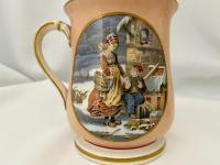 Prattware Mug c.1860 (5 of 6)
