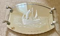 Art Deco Mirrored Tray (6 of 9)