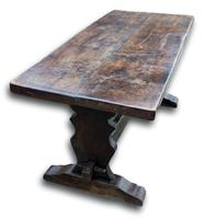 Early 19th Century French Oak Refectory Table (3 of 7)