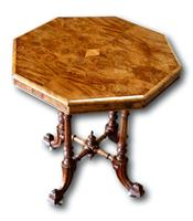 Victorian Walnut Occasional Table (4 of 5)