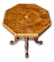 Victorian Walnut Occasional Table (3 of 5)