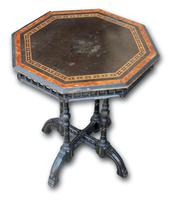 Victorian Ebonised Occasional Table