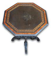 Victorian Ebonised Occasional Table (3 of 5)
