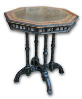 Victorian Ebonised Occasional Table (2 of 5)