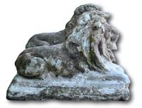Pair of Stone Lions (3 of 5)