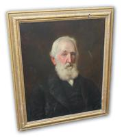 Late Victorian Oil on Canvas Portrait of a Gentleman (3 of 3)