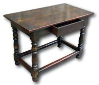 18th Century Oak Centre Table (5 of 5)