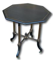 Ebonised Occasional Table in the Manner of Gillows (2 of 6)