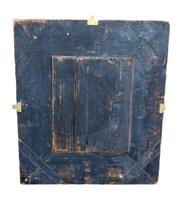 19th Century Brass & Ebonised Cushion Mirror (4 of 5)