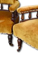 Pair of Metamorphic Victorian Armchairs (2 of 5)