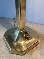 1920's Adjustable Desk Table Lamp Base; Rewired & PAT Tested (6 of 8)