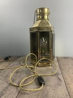 Victorian Ships Lantern, Wall Light, Table Lamp, Rewired (2 of 10)