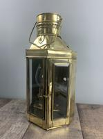 Victorian Ships Lantern, Wall Light, Table Lamp, Rewired (4 of 10)