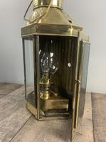 Victorian Ships Lantern, Wall Light, Table Lamp, Rewired (6 of 10)