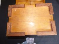 RAF Apprentice Piece Large Jewellery Box with Poker Work Top (2 of 8)
