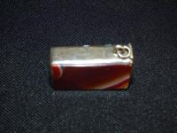 Vesta Case with Carnelian Banded Agate Stone Both Sides (5 of 6)