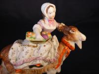 Painted Parian Figure by Sutherland & Sons (5 of 6)