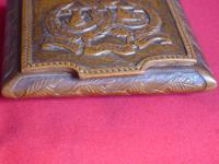 Argyle & Sutherland Highlanders Hand Carved Box (5 of 9)