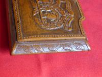 Argyle & Sutherland Highlanders Hand Carved Box (2 of 9)