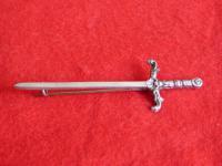 Silver Sword Brooch - Glasgow 1951 Hallmark