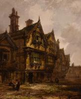 """Oil Painting by Henry Foley """"the Old House"""" (3 of 4)"""