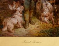 """Oil Painting by Paul Jones """"the Young Gamekeeper"""" (4 of 5)"""