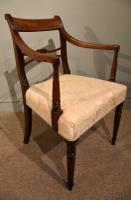 Eight Regency Mahogany Dining Chairs (8 of 8)