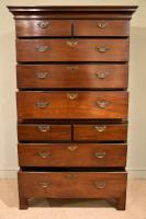 George II Mahogany Chest On Chest (2 of 8)