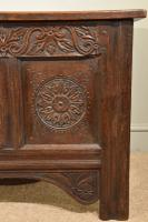 Carved Oak Coffer From17th Century (4 of 7)