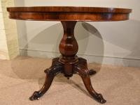 Rosewood Centre Dining Table 19th Century (5 of 6)