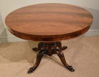 Rosewood Centre Dining Table 19th Century (2 of 6)