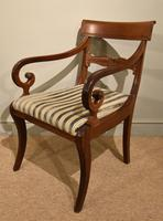 Set of Six Regency Dining Chairs (8 of 9)