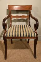 Set of Six Regency Dining Chairs (7 of 9)