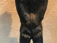 Rare African Slave in Chains Carving c.1800 (10 of 19)