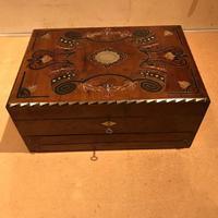Rare Scottish Writing & Jewels Box C.1820